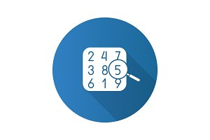 Number theory icon