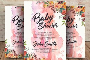Cute Baby Announcement/Shower Card