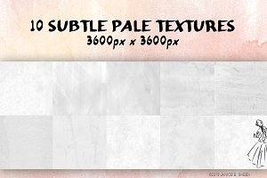 10 Pale Subtle Textures