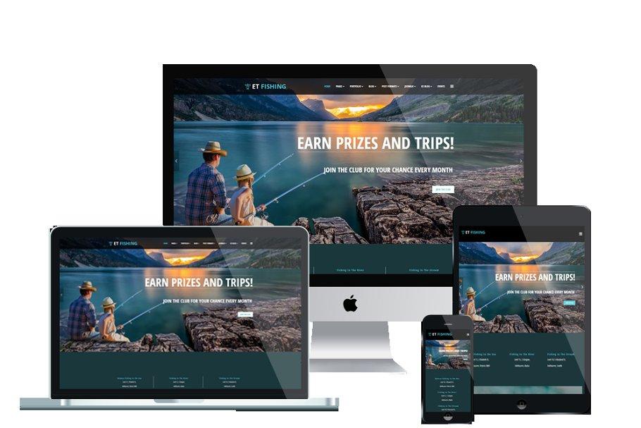 ET Fishing – Fishing WordPress Theme