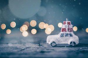 Christmas holiday concept card