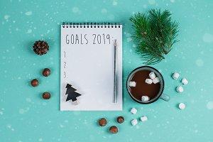 Goals 2019 Text Notebook