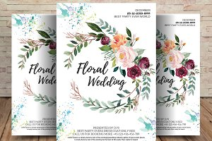 Elegant Wedding Invite Template