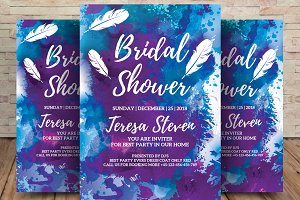 Bridal Shower Party Flyer