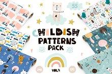 Childish patterns pack vol. 4