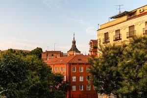 Cityscape of historic centre of
