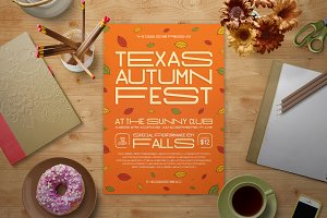 Fall Music Festival Flyer