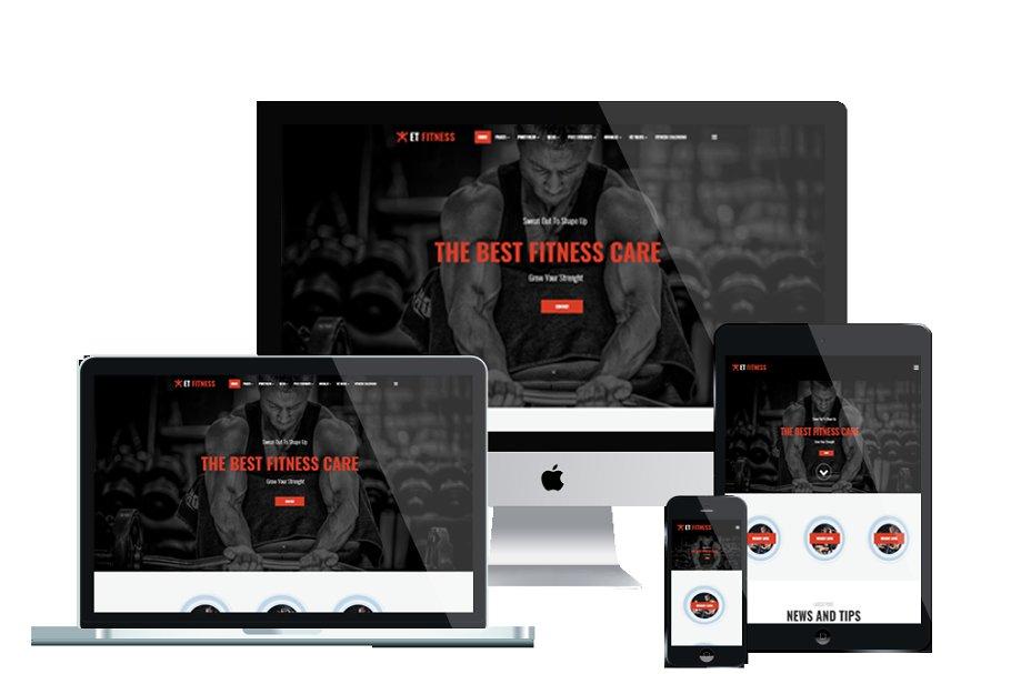ET Fitness – Gym WordPress theme
