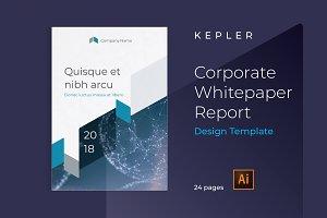 KEPLER Corporate Report Design