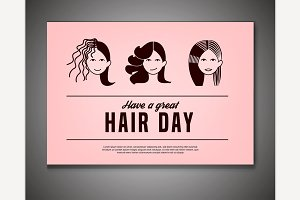Crazy Hair Day Poster