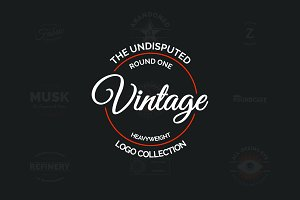 Vintage Logo Collection Round 1