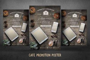 Cafe Promotion Poster