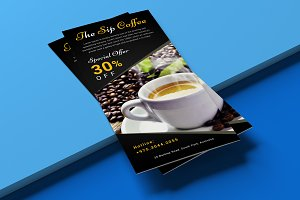 Coffee Shop DL Flyer