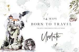Born To Travel. Map creator.
