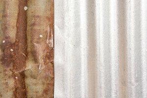 Texture zinc rusty background