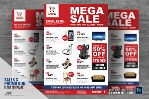 Sales and Promotional Flyer