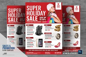 Product Sale Promotional Flyer