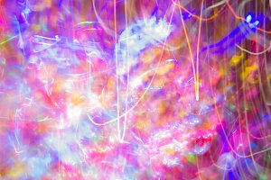 abstract color in the night party
