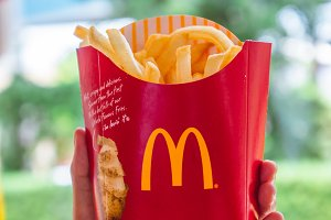 French fries Mcdonald's