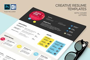 Creative CV Template & Cover Letter