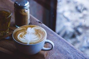 coffee latte art aroma