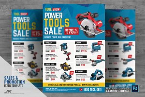 Power Tools Sale Flyer