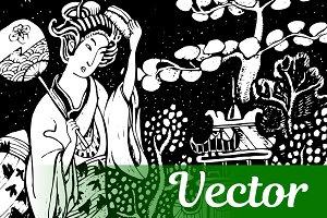 Japan Vector Illustration