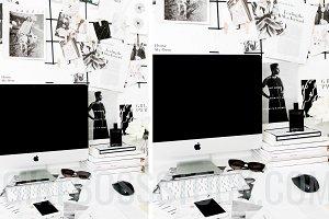 Styled Desktop Mockup PNG
