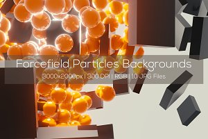 Forcefield Particles Backgrounds