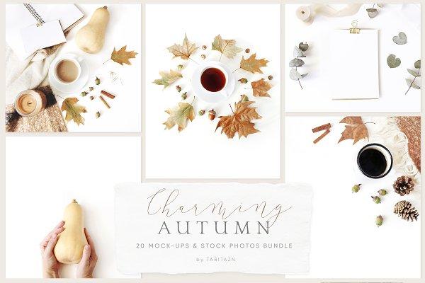 Product Mockups: Tabita's shop - Charming autumn mockups & photos