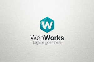 W Logo - Web Works