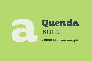 Quenda Bold + Medium