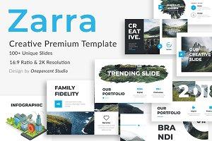 Zarra Creative Google Slide Template