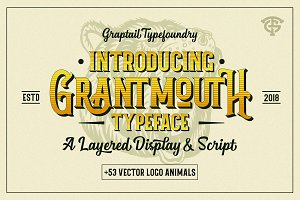 Grantmouth Font Duo + Extras