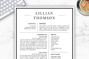 Professional Resume/CV - Lillian