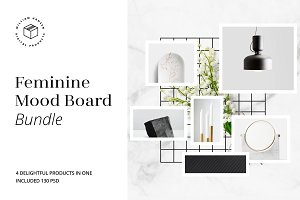 Feminine Mood Board Bundle | 40% OFF