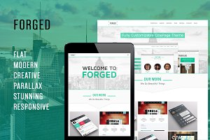 Forged - OnePage Parallax Theme