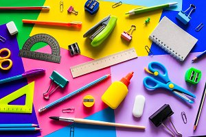 various accessories for study
