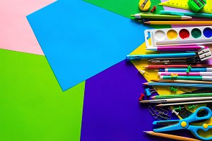stationery to school