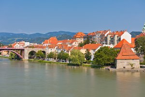 Maribor city embankment