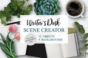 Writer's Desk Scene Creator