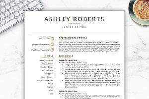 Resume/CV - Ashley
