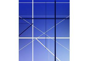 Geometric line pattern.