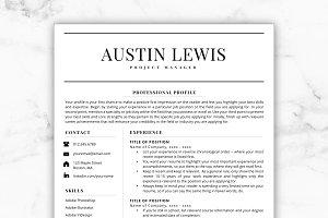 Resume/CV - Austin