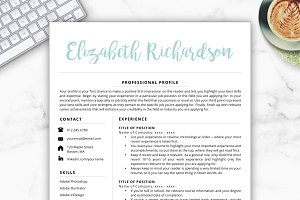 Resume Template - Elizabeth