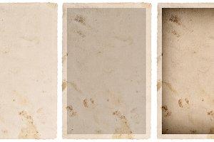 Paper photo card frame JPG