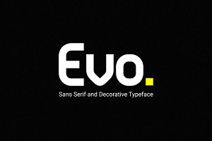 Evo - Sans&Decorative Typeface