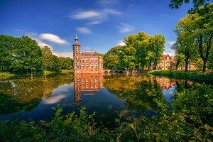 Castle Bouvigne in Netherlands