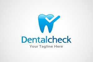 Dental Check Logo Template