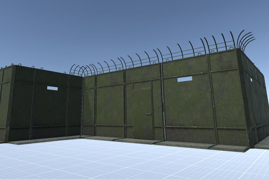 Armored Tactical Wall